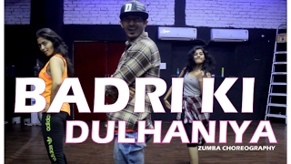 Badri Ki Dulhania (Title track) dance choreography I Zumba fitness I Vicky & aakanksha