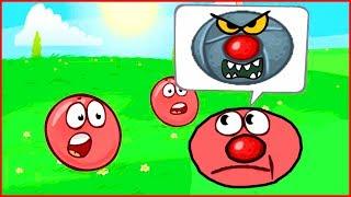 НОВЫЙ БОСС Нашел ШАРИКА.В игре красный шар. Для детей. Red ball 4