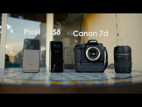Camera Comparison: Galaxy S8 vs Pixel vs DSLR!