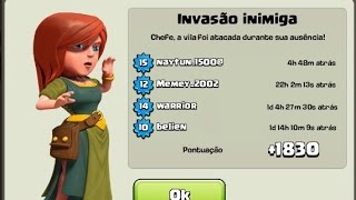 Layout Centro de Vila 3 Troféu | Clash of Clans Layout CV 3 Guerra | TH3 WAR