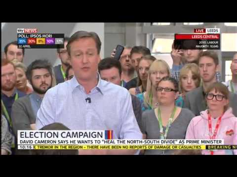 """David Cameron says this is a """"career defining"""" election"""