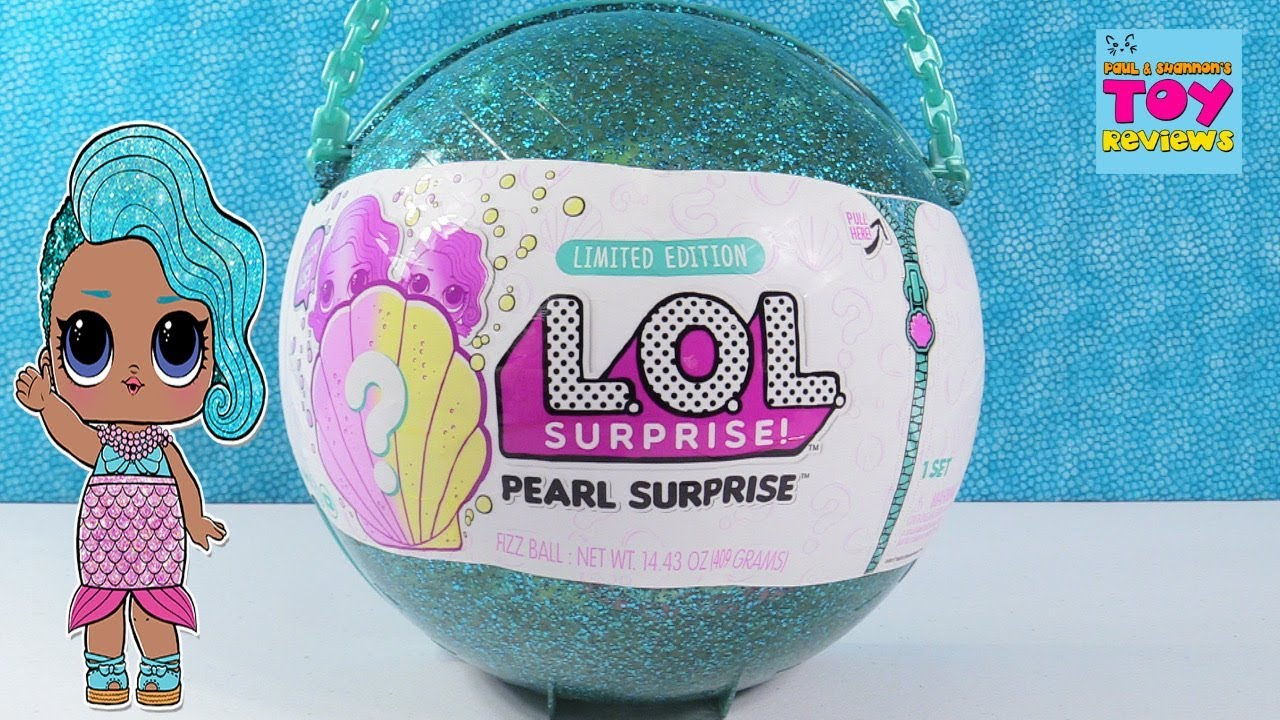 Pearl Surprise Lol Surprise Doll Limited Edition Toy Unboxing Review