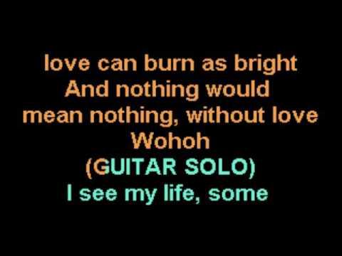Without Love Bon Jovi Karaoke 4th revision CustomKaraoke RARE custom