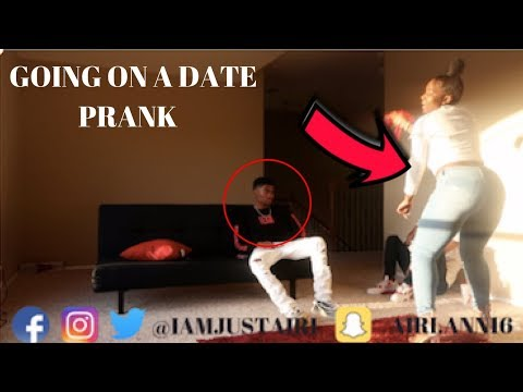 GOING ON A DATE WITH SOMEONE ELSE PRANK ON TRAY FROM CHRIS AND TRAY !!!