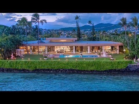 Palatial Oceanfront Estate On Kahala Avenue, Honolulu, Hawaii