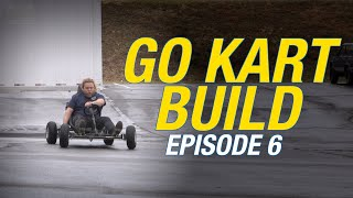 We Built a Roll Bar For The Go Kart  - Brand New Builders - Episode 6