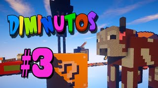 EL BLOQUE SUICIDA!! #DIMINUTOS4 | Episodio 3 | Minecraft Supervivencia | Willyrex y sTaXx