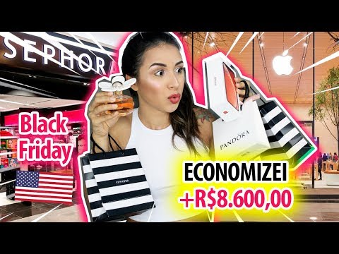 🇺🇸COMPRINHAS DE ORLANDO na BLACK FRIDAY | Apple, Sephora, NYX e mais…