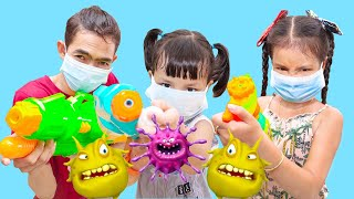 Nora and Children Story About Viruses