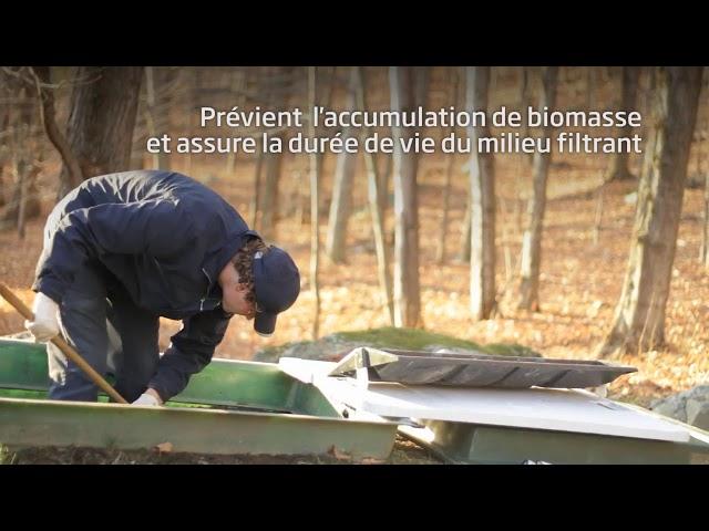Ecoflo installation septique écologique – Entretien annuel