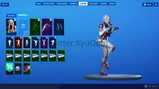 Fortnite *NEW* *LEAKED* Payback skin showcased with Emotes