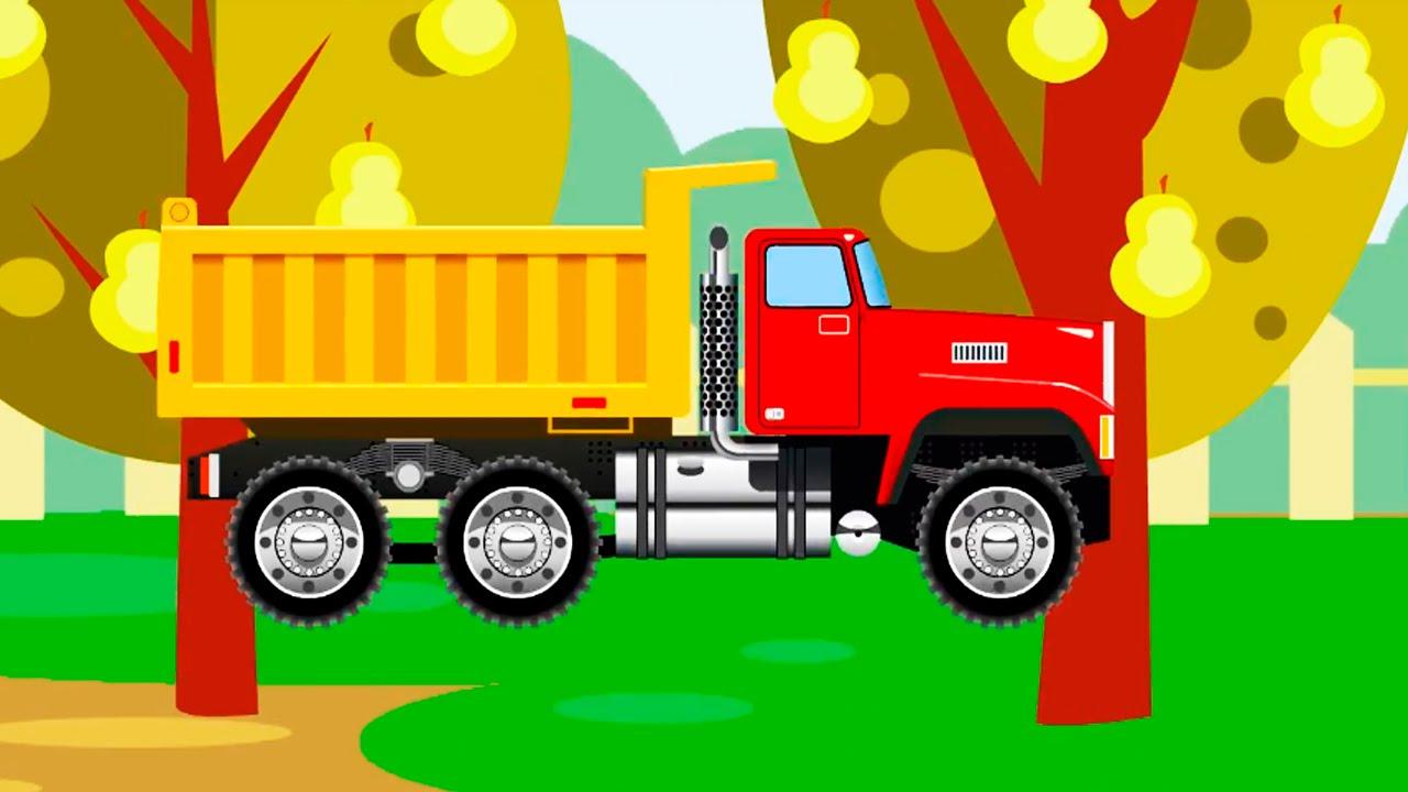 der lastwagen zeichentrick lehrreicher cartoon die. Black Bedroom Furniture Sets. Home Design Ideas