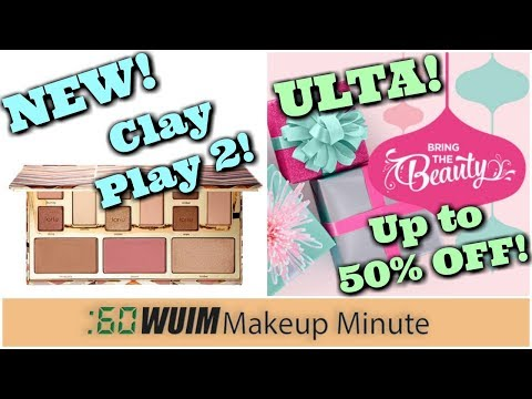 Tarte Clay Play Face Palette Volume 2! + Up to 50% Off at ULTA!! | Makeup Minute