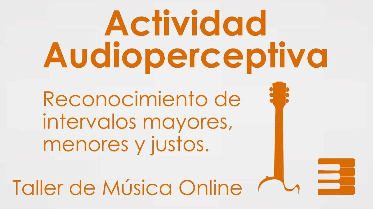 Reconocimiento de Intervalos | Ejercicio de Audioperceptiva
