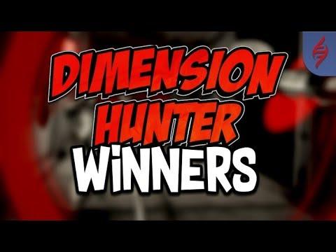 Dimension Hunters Winners