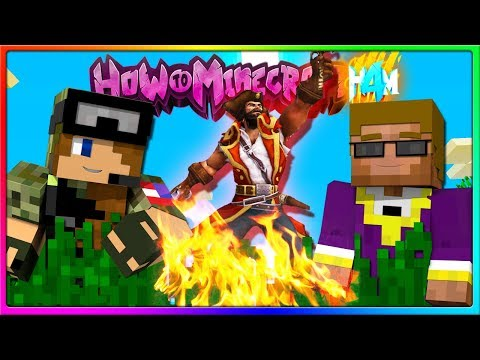 Minecraft - ARRRGGG I'M A PIRATE!   Episode 110 of H4M (How to Minecraft Season 4)