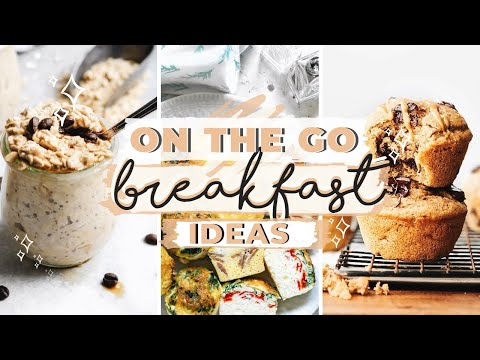 Breakfast Ideas For Kids! Healthy + Easy Recipes For School | Make Ahead + Freezer Meals
