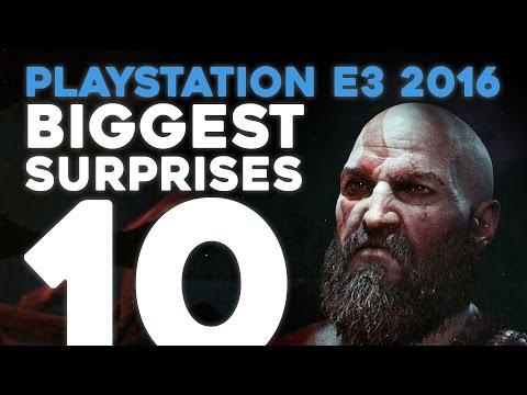 PlayStation E3 2016: 10 Biggest Surprises