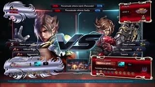 Tekken 7 Extremely Aggressive LARS player quit on purpose PURPLE RANK