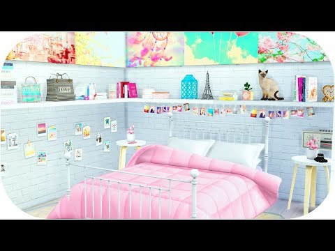 The Sims 4  Tumblr Girl Room