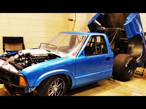 1994 Chevrolet S10 Drag Truck Interview with Mark Cannoy ...