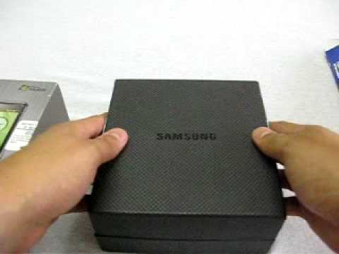 Unboxing Samsung Omnia i900