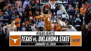 Texas vs. Oklahoma State Basketball Highlights (2019-20) | Stadium
