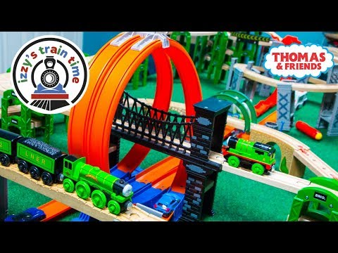 Thomas and Friends HOT WHEELS TRACK! Fun Toy Trains for Kids | Cars for Kids and Children