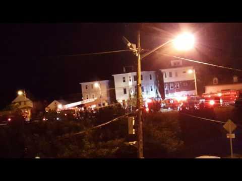 House Fire in Providence, Rhode Island