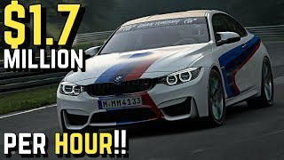 $1.7 MILLION/Hour *BMW M4* Setup in GT SPORT!!
