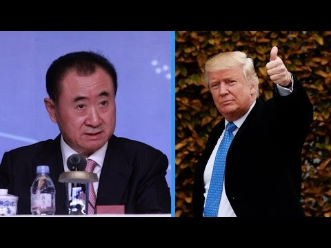 China's richest man has a message for Trump