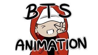 BTS Animation - Treffen Bangtan!