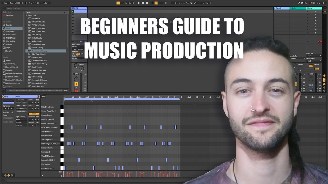 Beginners Guide to Music Production - 2018 (Improved)