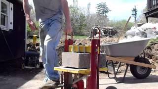 Kracker Hydraulic Block Splitter