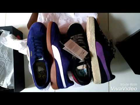 0ef496019de UNBOXING PUMA SUEDE MADRID AND PUMA SUEDE X A-LIFE - YouTube