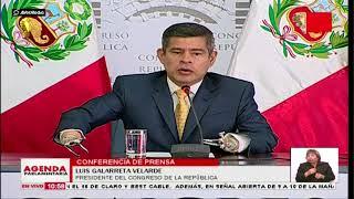 Luis Galarreta anuncia medidas legales contra Rafo León