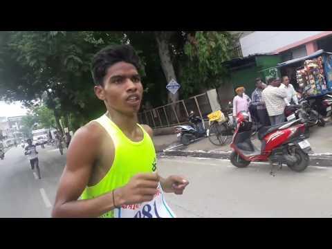 Major Dhya Chand Stediyam marathon # Jhansi    By Akash Verma