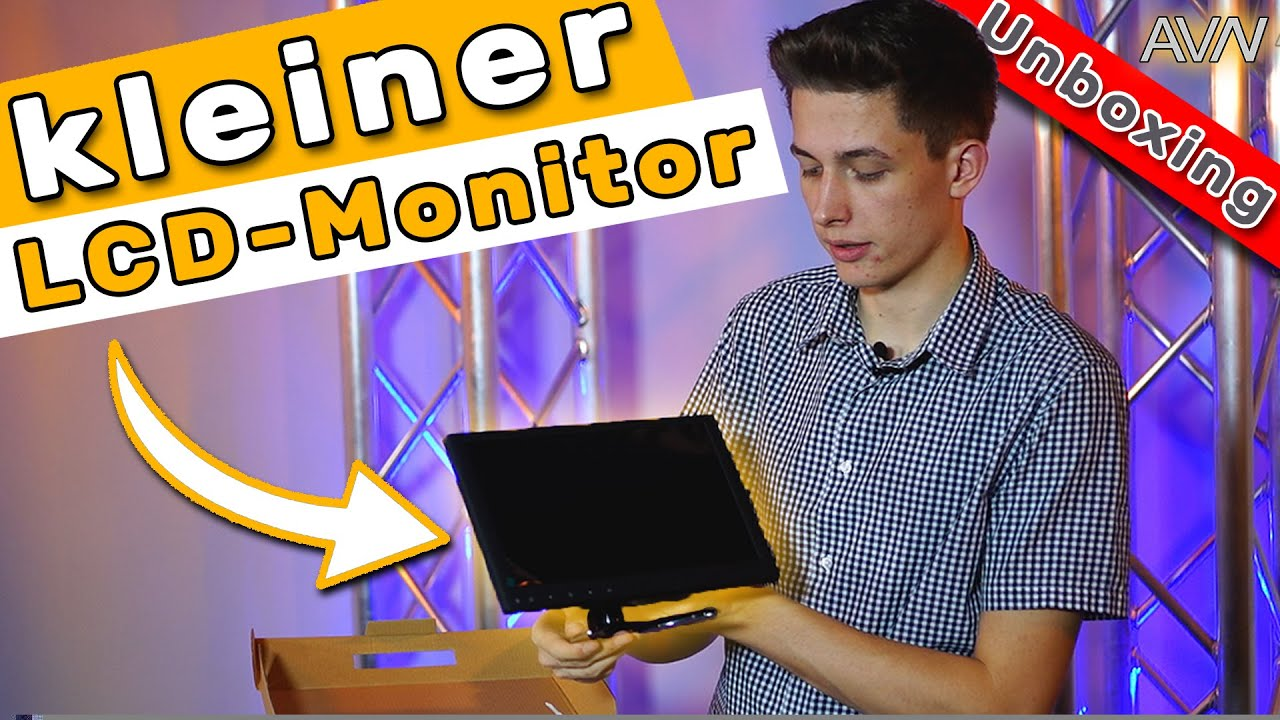 GUTER und KLEINER Monitor?  8 Zoll TFT-LCD MONITOR - Unboxing