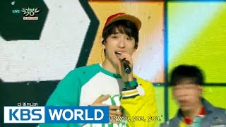 GOT7 - Just Right (딱 좋아) [Music Bank HOT Stage / 2015.08.14]