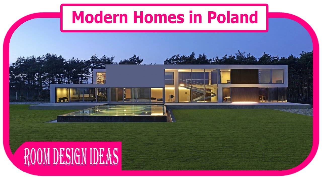 Attractive Modern Homes In Poland   Stunning Minimalist Home In Poland Design Inspirations