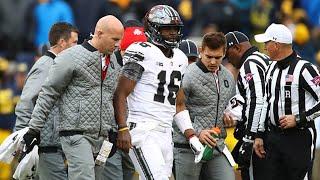 Urban Meyer and J.T. Barrett describe how injury happened