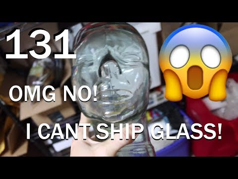 How to Ship a Glass Head, Some Etsy Listings | Vlog 131
