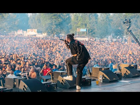 Rockstar - Post Malone (LIVE Wireless Festival 2018)