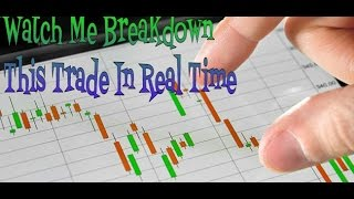 Forex Trading: Watch Me Breakdown This Trade In Real Time