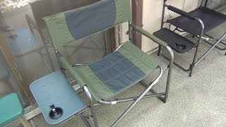 Best Camp Chair I've Ever Had (Awesome Features For Under $35) Walmart Find!