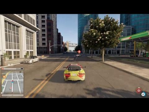 WATCH DOG 2  - Police chasing - ULTRA 1080 Ti