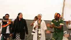 Amazing Ethiopian Traditional shoulder Dance in Arava Israel