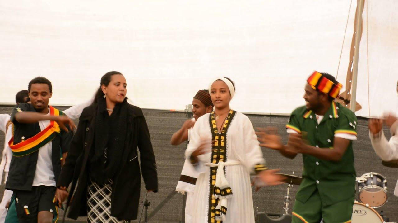 Download Amazing Ethiopian Traditional shoulder Dance in Arava Israel