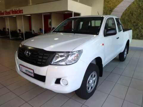 2015 TOYOTA HILUX 2.5 D-4D R/B SRX P/U XTRA CAB Auto For Sale On Auto Trader South Africa