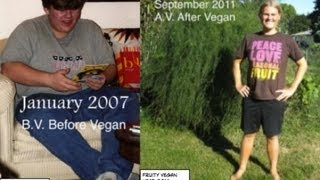 RAW FOOD WEIGHT LOSS: Chris Randall drops 140lbs of toxicity !